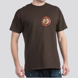 """Year of the Dog [Red & Brown Dark T-Shirt"